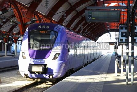 Transportation: Central railway station in Malmo Sweden #05057
