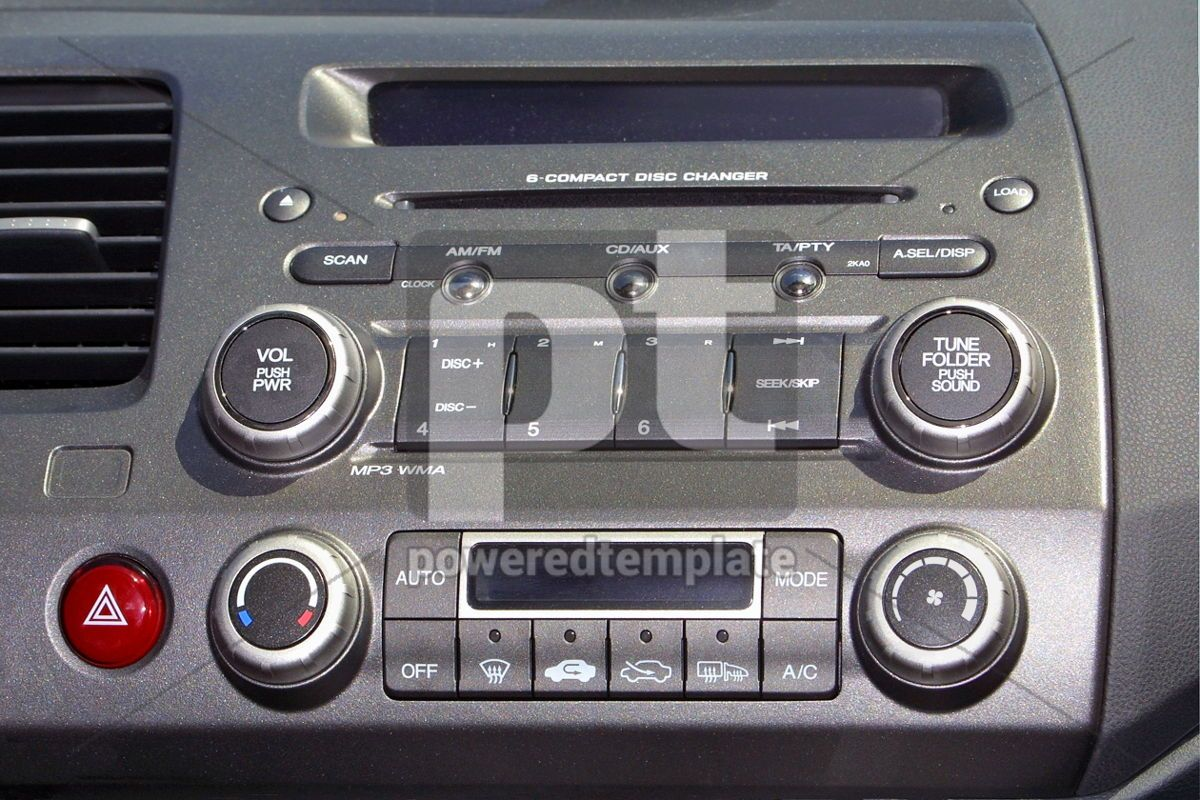 Automobile control board, 05060, Transportation — PoweredTemplate.com