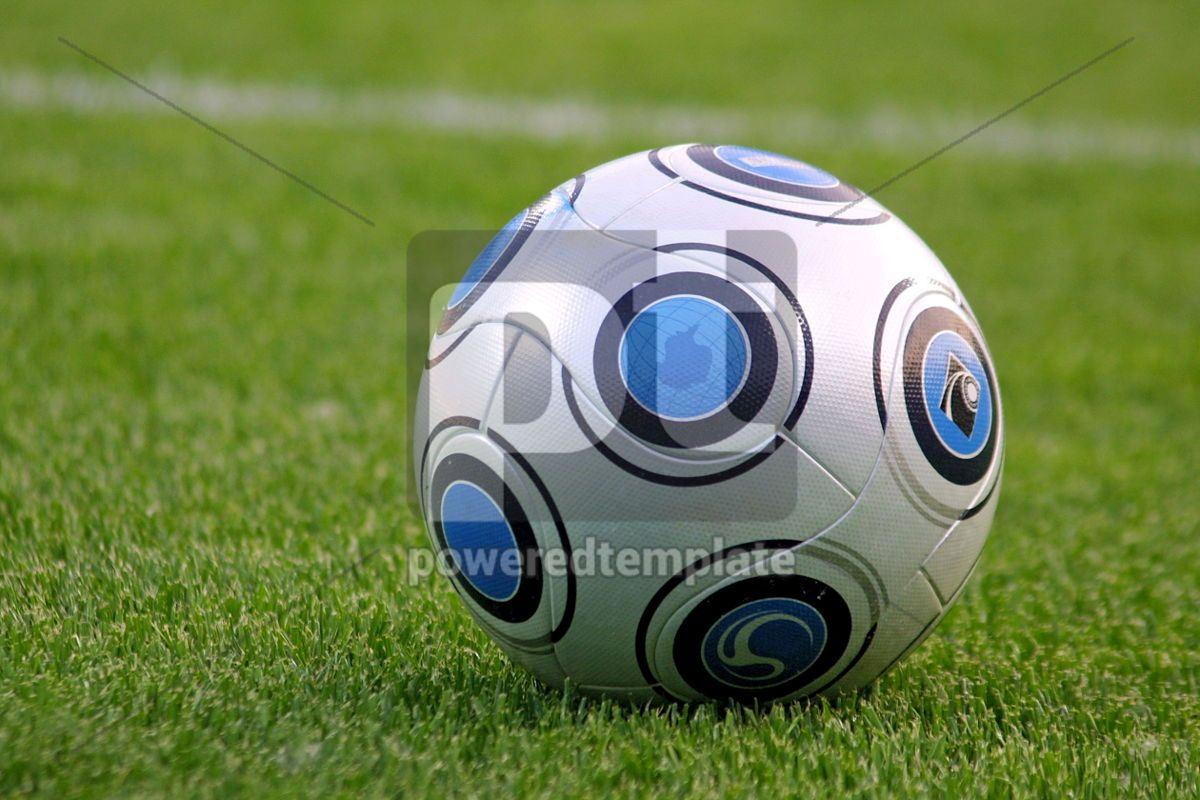 soccer ball, 05062, Sports  — PoweredTemplate.com