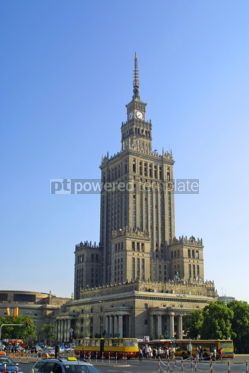Architecture: Palace of Culture and Science Warsaw Poland #05069