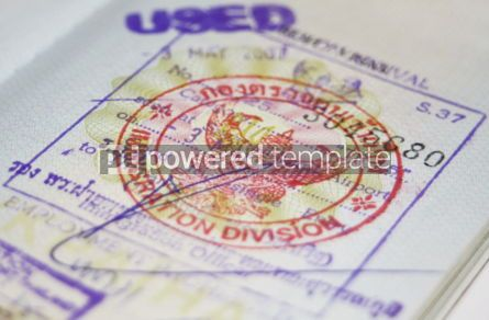 Business: Passport with Thailand visa #05085