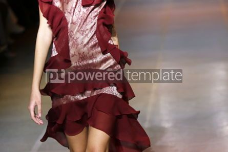 Beauty & Fashion: Fashion show. Close-up details of fashionable clothes #05114