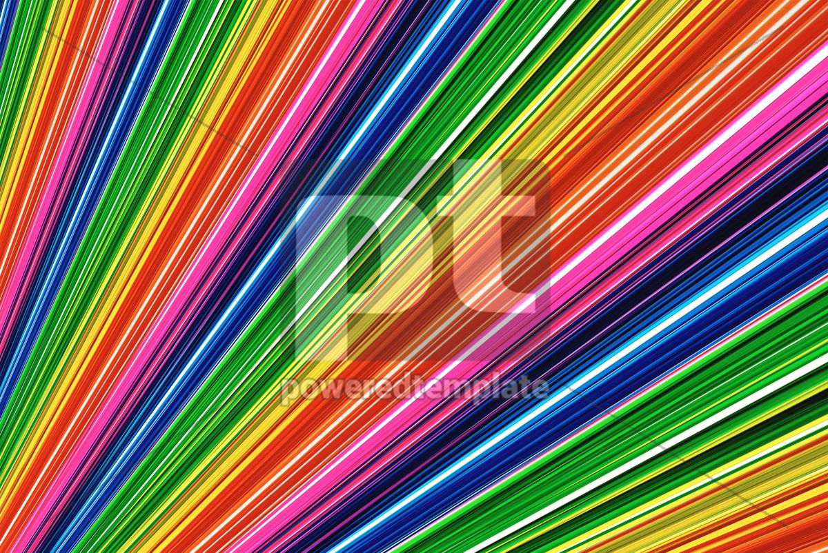 Abstract rainbow lines, 05121, Abstract — PoweredTemplate.com