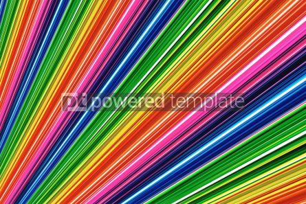 Abstract: Abstract rainbow lines #05121