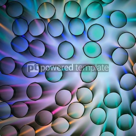 Abstract: Abstract luminescent tubes #05122