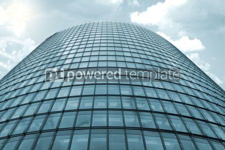 Architecture : Deutsche Bahn building in Berlin Germany #05156
