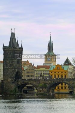 Architecture : Charles Bridge in Prague #05170