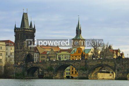 Architecture : Charles Bridge in Prague #05172