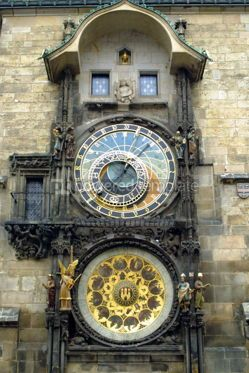 Architecture : Astronomical Clock in Prague #05173