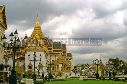 Architecture : The residence of King of Thailand  #05183