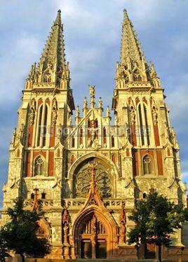 Architecture : Roman Catholic Cathedral in Kyiv Ukraine #05194