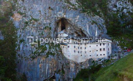 Architecture : Predjama Castle in Postojna Cave Slovenia #05205