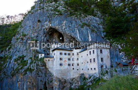 Architecture : Predjama Castle in Postojna Cave Slovenia #05206