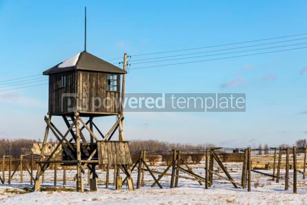 Architecture : Majdanek concentration camp in Lublin Poland #05327