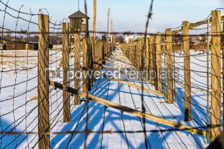 Architecture : Majdanek concentration camp in Lublin Poland #05330