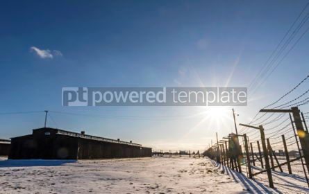 Architecture : Majdanek concentration camp in Lublin Poland #05331