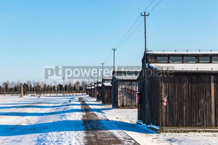 Architecture : Majdanek concentration camp in Lublin Poland #05333