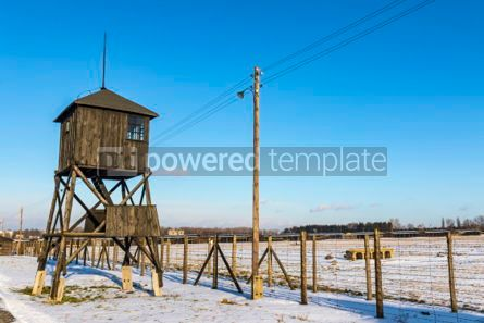 Architecture : Majdanek concentration camp in Lublin Poland #05338