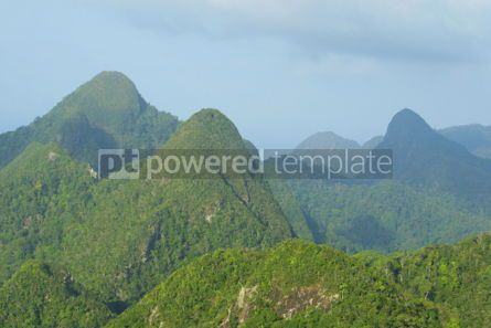 Nature: Rainforest hills on Langkawi island Malaysia #05366