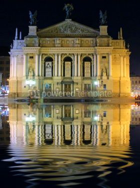 Architecture : Lviv Opera and Ballet Theater #05407