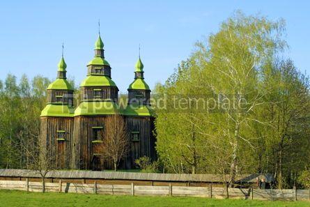 Architecture: Wooden church #05412