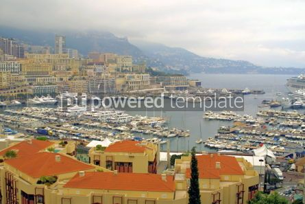 Transportation: Sea port of Monte-Carlo #05425