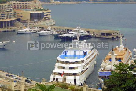 Transportation: Sea port of Monte-Carlo #05427