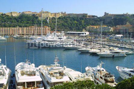 Transportation: Luxury yachts in sea port of Monte-Carlo #05428
