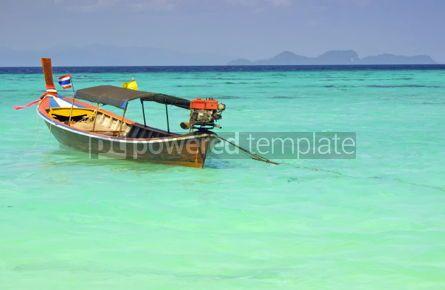 Transportation: Boat in Andaman sea Thailand #05429