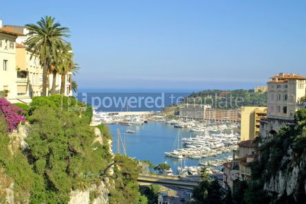 Transportation: Sea port of Monte-Carlo #05430