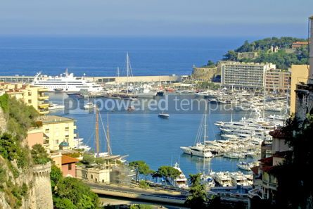 Transportation: Sea port of Monte-Carlo #05431