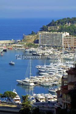 Transportation: Sea port of Monte-Carlo #05432