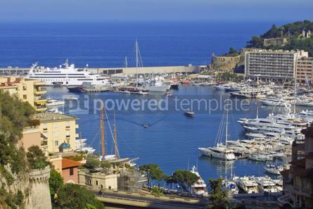 Transportation: Sea port of Monte-Carlo #05433