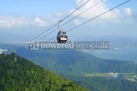 Transportation: Langkawi hills cable car Malaysia #05434