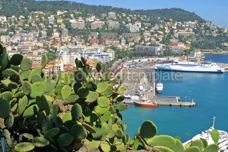 Transportation: Port of Nice Cote d'Azur France #05443