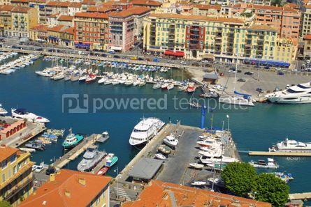 Transportation: Port of Nice Cote d'Azur France #05445