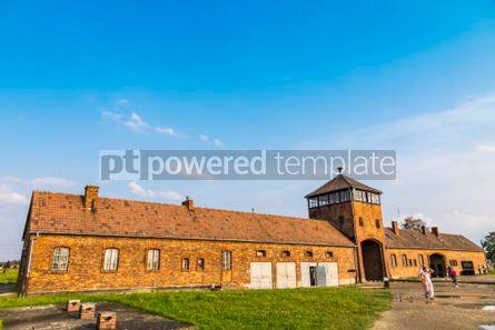 Architecture : Auschwitz II–Birkenau concentration camp in Oswiecim Poland #05458