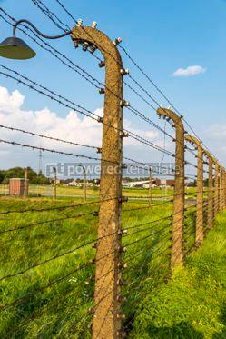 Architecture : Auschwitz II–Birkenau concentration camp in Oswiecim Poland #05459