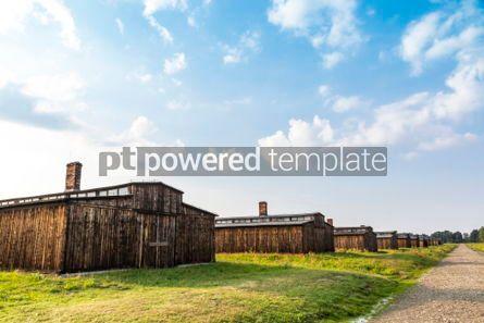 Architecture : Auschwitz II–Birkenau concentration camp in Oswiecim Poland #05462