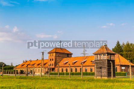 Architecture : Auschwitz II–Birkenau concentration camp in Oswiecim Poland #05463