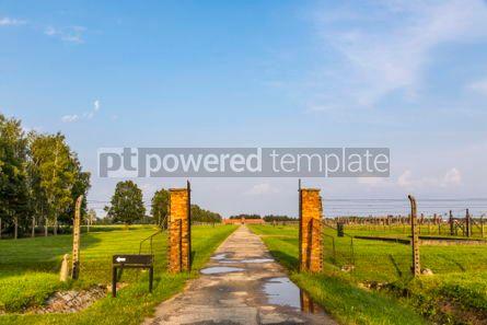 Architecture : Auschwitz II–Birkenau concentration camp in Oswiecim Poland #05465