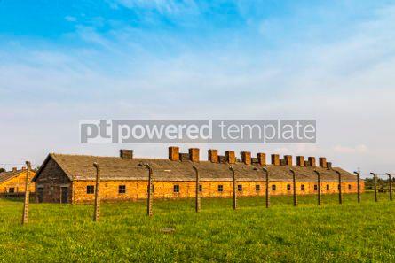 Architecture : Auschwitz II–Birkenau concentration camp in Oswiecim Poland #05468
