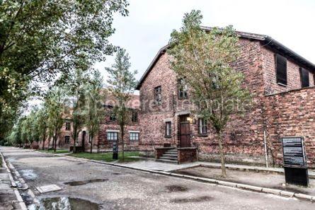 Architecture : Auschwitz I (Auschwitz-Birkenau) concentration camp Oswiecim P #05476