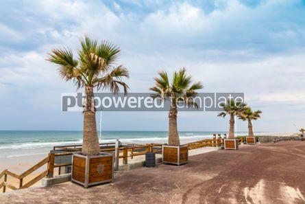 Nature: Ocean beach on the Atlantic coast of France near Lacanau-Ocean  #05481