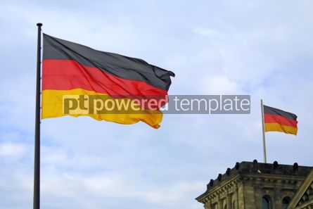 Education: National flag of Germany #05495