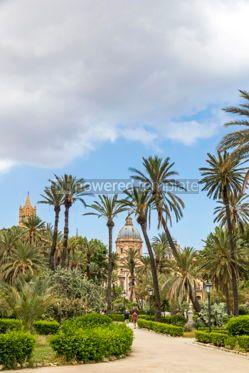 Nature: Villa Bonanno public garden in Palermo Sicily Italy #05528
