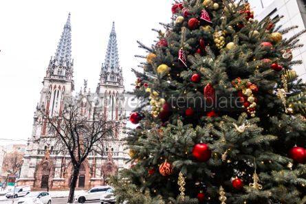 Architecture : St. Nicholas Roman Catholic Cathedral in Kyiv Ukraine #05556
