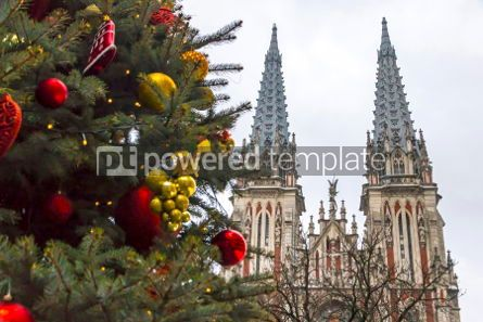 Architecture : St. Nicholas Roman Catholic Cathedral in Kyiv Ukraine #05557