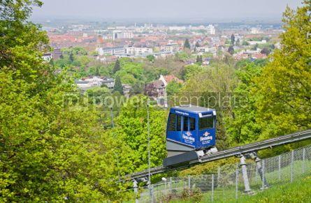 Transportation: Schlossbergbahn - funicular railway in Freiburg im Breisgau #05591