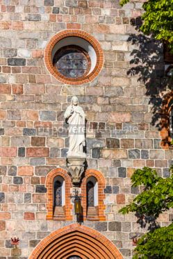 Architecture : St.George's Roman Catholic Church in Sopot Poland #05621